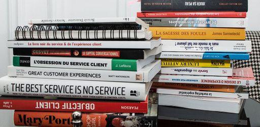 La bibliothèque idéale du service client
