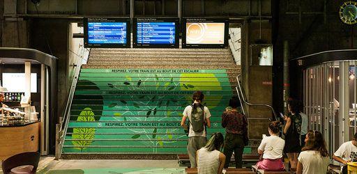 A la Gare Montparnasse, de l'héroïne pour améliorer l'expérience client chez McDonald's