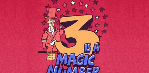 Three is the Magic Number