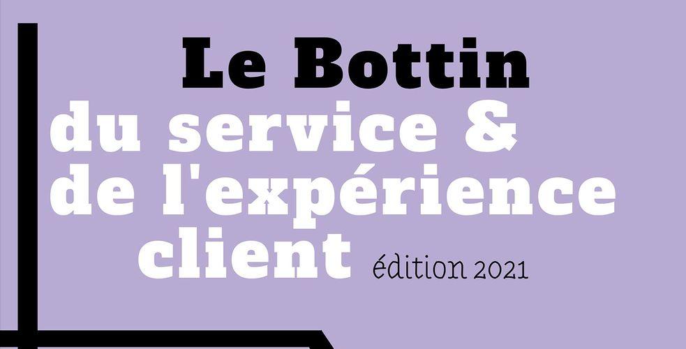 Le Bottin du service et de l'expérience client, édition 2021