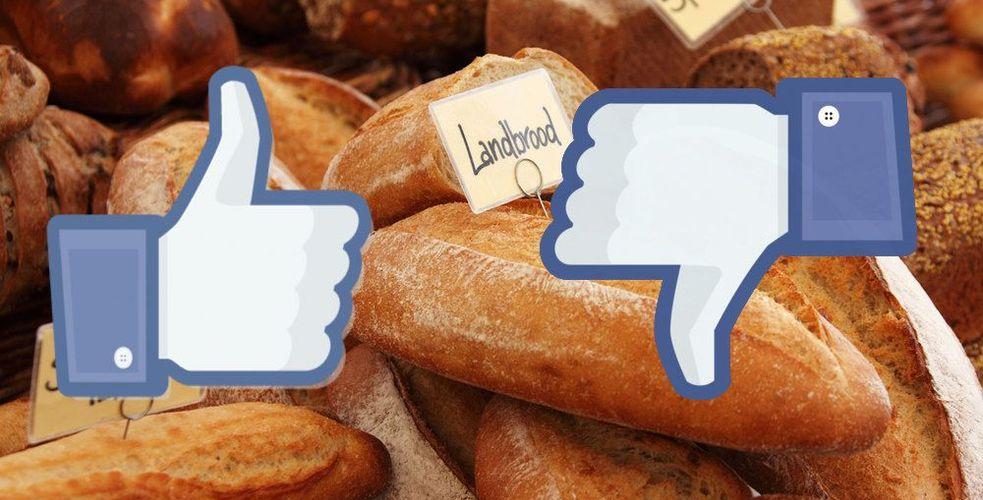 """Un boulanger met un """"pain"""" à Facebook"""