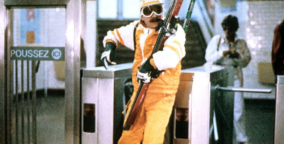 Jean-Claude Dusse part aux sports d'hiver