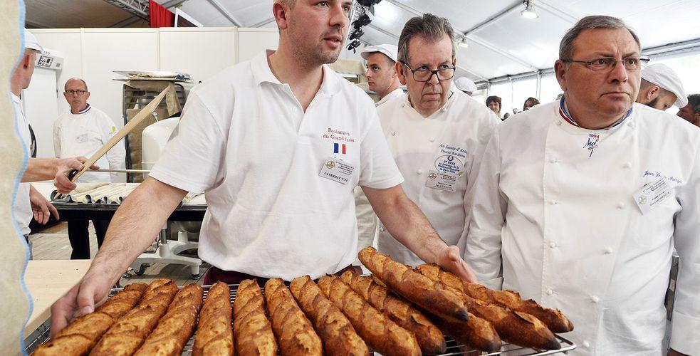 After the sausage, the Morteau baguette