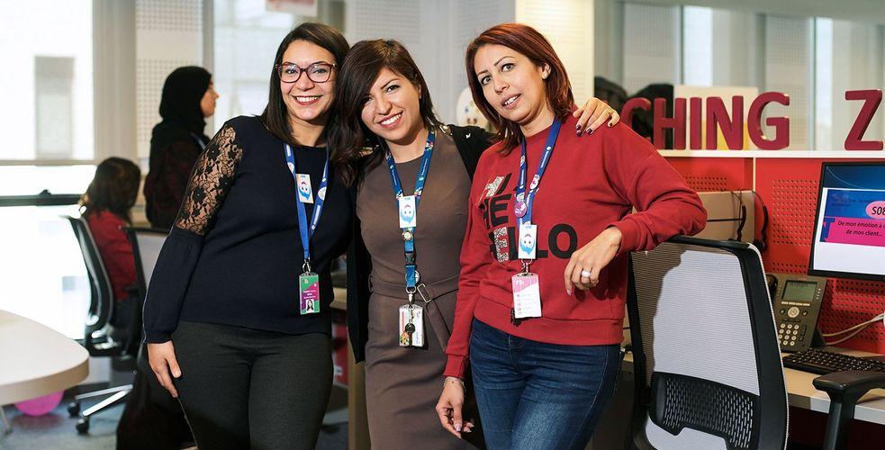 C'était à Tunis, dans les centres de contacts de Teleperformance