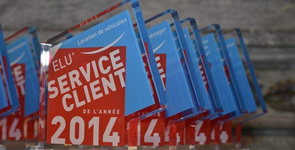 Atmosphère, atmosphères de la soirée de remise des prix Élu Service Client de l'Année 2014