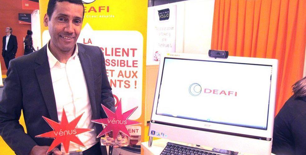 DEAFI, pionnier de la relation client adaptée aux sourds et malentendants, remporte deux trophées Vénus de l'innovation (communiqué)