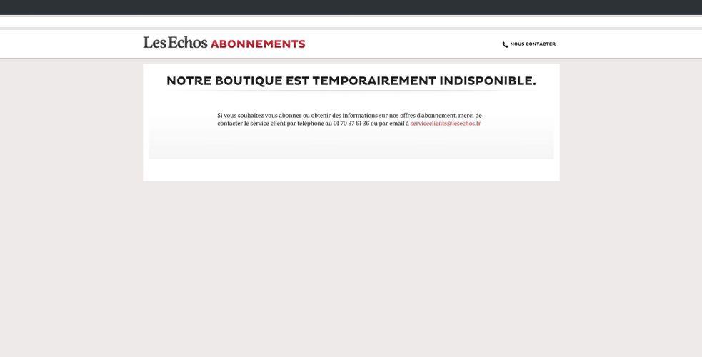 Plus de 40 % des titres de presse français, dont le Figaro, les Echos, le Point, Valeurs actuelles, Altice Media ont perdu toutes les données sur leurs abonnés.