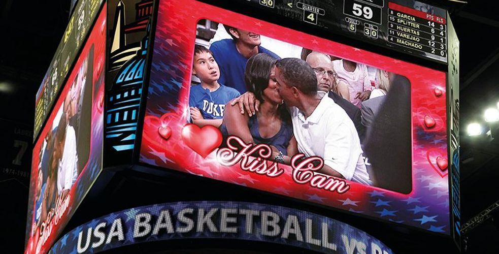 De l'expérience client… en Amérique : La KISS CAM