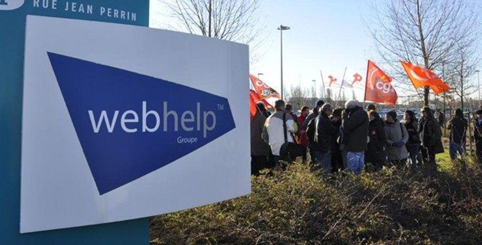 Injures, menaces et finalement mise à pied chez Webhelp à Caen suite à des propos injurieux